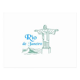 リオデジャネイロ ポストカード