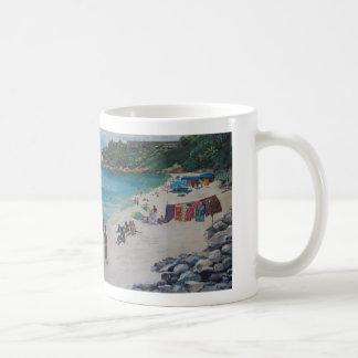 リオビーチ、リオBeachbyシルビアLeDoux コーヒーマグカップ