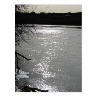 リオ・グランデ川の薄暗がり ポストカード