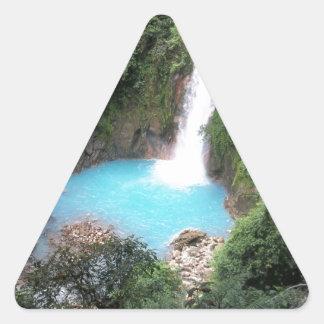 リオCeleste滝 三角形シール