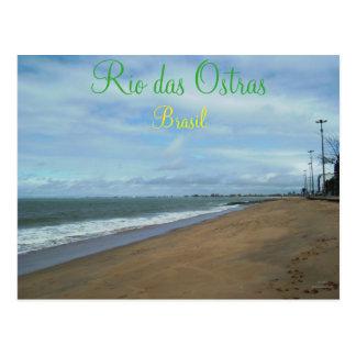 リオdas Ostras、ブラジル ポストカード