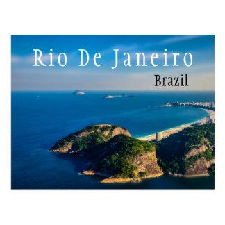 リオDe Janieroブラジルビーチ ポストカード