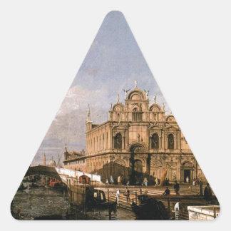 リオdei MendicantiおよびScuola diサンMarco 三角形シール