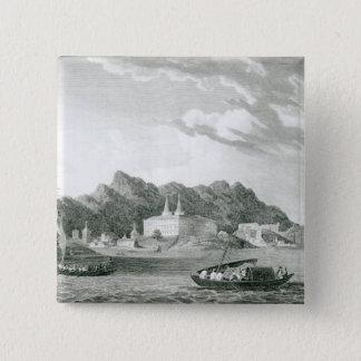 リオJanieroの港 5.1cm 正方形バッジ