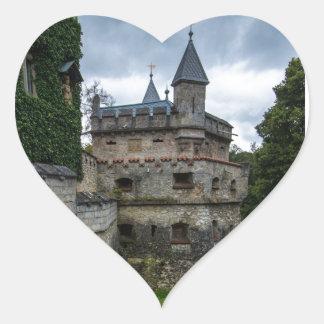 リキテンスタインの城- Baden Wurttemberg -ドイツ ハートシール