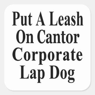 リコールのエリックの先唱者のKochの油の愛玩用小犬 スクエアシール