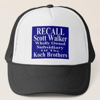 リコールの知事のスコットの歩行者の企業のな子分 キャップ