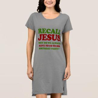 リコールイエス・キリスト -- 休日のユーモア- .png ドレス