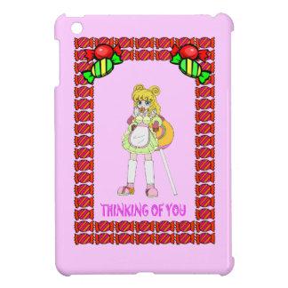 リサの棒つきキャンデーおよびタフィー iPad MINI カバー