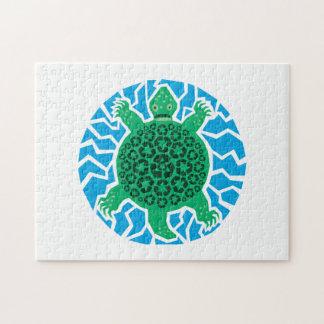 リサイクルしているウミガメ ジグソーパズル