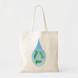 リサイクルのウォーターバッグ トートバッグ