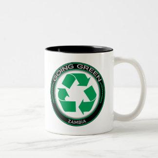 リサイクルのザンビア ツートーンマグカップ