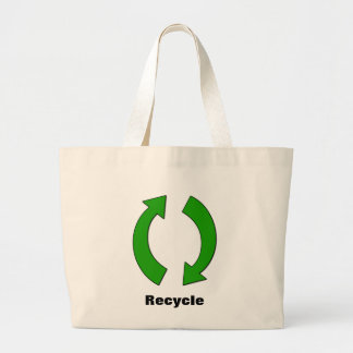 リサイクルのジャンボトート ラージトートバッグ