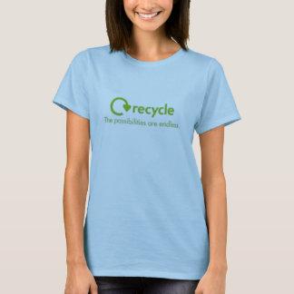 リサイクルのティー Tシャツ