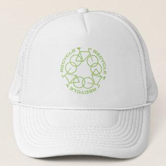 リサイクルのトラック運転手の帽子2 キャップ