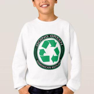 リサイクルのドミニカ共和国 スウェットシャツ
