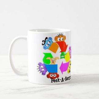 リサイクルのマグ- Laのピーカブーの乗組員 コーヒーマグカップ