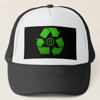 リサイクルのロゴ キャップ