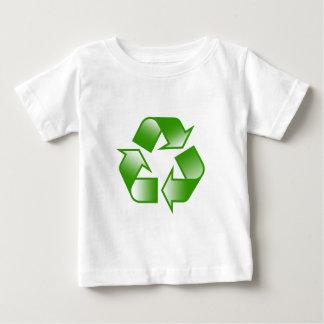 リサイクルのロゴ ベビーTシャツ