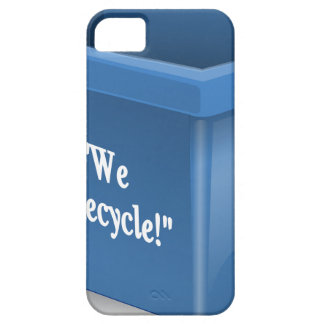 リサイクルの回収容器 iPhone SE/5/5s ケース