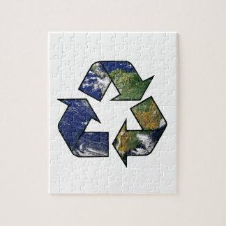 リサイクルの地球 ジグソーパズル