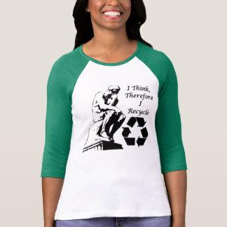 リサイクルの思想家のTシャツ Tシャツ