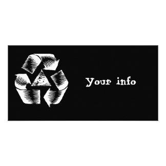 リサイクルの目 カード