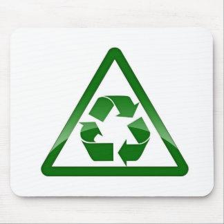 リサイクルの緑の環境にやさしい保存の地球 マウスパッド