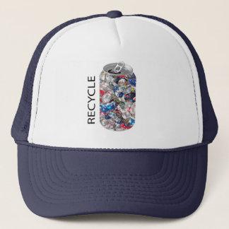 リサイクルの缶 キャップ