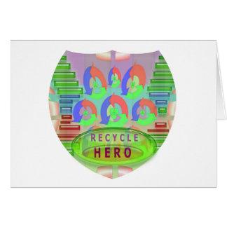 リサイクルの英雄賞-今励まして下さい カード