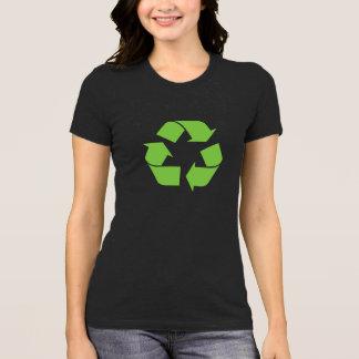 リサイクルの記号のTシャツ Tシャツ