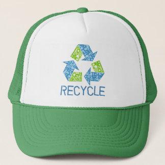 リサイクルの記号 キャップ