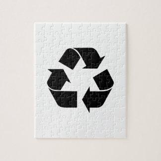 リサイクルの記号 ジグソーパズル