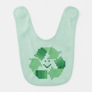 リサイクルの記号 ベビービブ