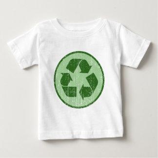 リサイクルの記号 ベビーTシャツ