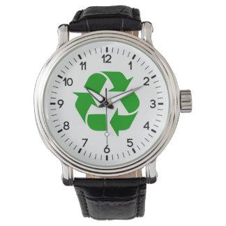 リサイクルの記号 腕時計