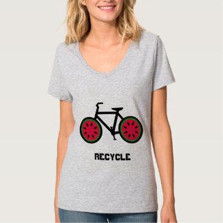 リサイクルのbycycleのTシャツ Tシャツ