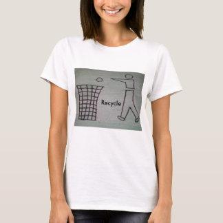 リサイクルのTシャツ Tシャツ