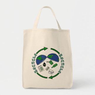 リサイクルのtotebag トートバッグ