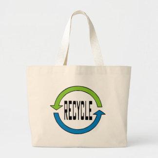リサイクルのtotebag ラージトートバッグ