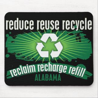 リサイクルアラバマ マウスパッド