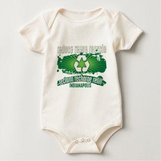 リサイクルインディアナポリス ベビーボディスーツ