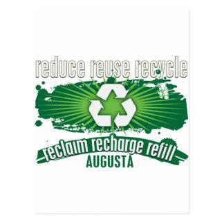 リサイクルオーガスタ ポストカード