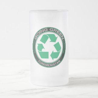 リサイクルタキマンニスタン フロストグラスビールジョッキ