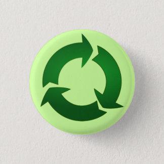 リサイクルボタン 3.2CM 丸型バッジ