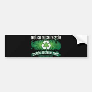 リサイクルマサチューセッツ バンパーステッカー