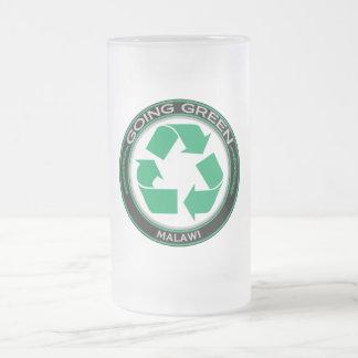 リサイクルマラウィ フロストグラスビールジョッキ
