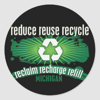 リサイクルミシガン州 ラウンドシール