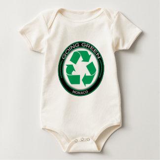 リサイクルモナコ ベビーボディスーツ