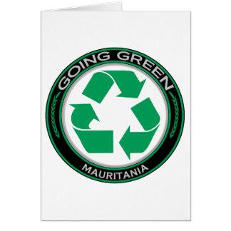 リサイクルモーリタニア カード